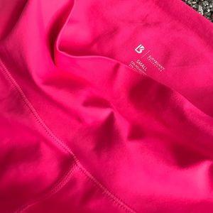 NWT Hot Pink buffbunny Allure Laser Leggings